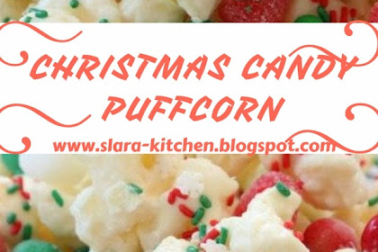 EASY CHRISTMAS CANDY PUFFCORN #christmas #dessert
