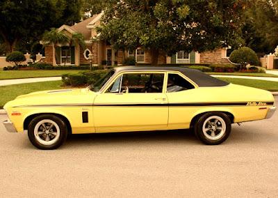 1972 Chevrolet Nova SS Sports Coupe Side Left