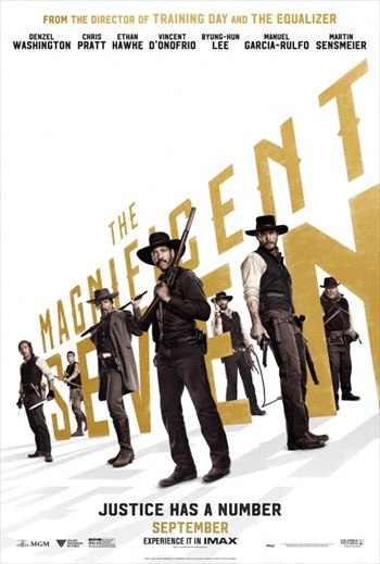 The Magnificent Seven 2016 English Full Movie 750MB