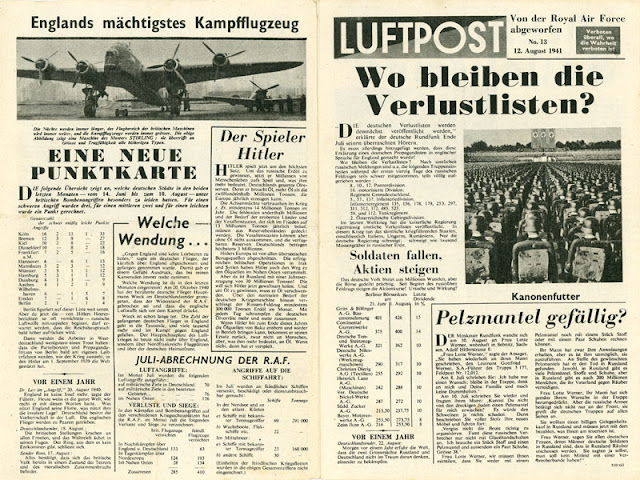 Luftpost propaganda, 12 August 1941 worldwartwo.filminspector.com