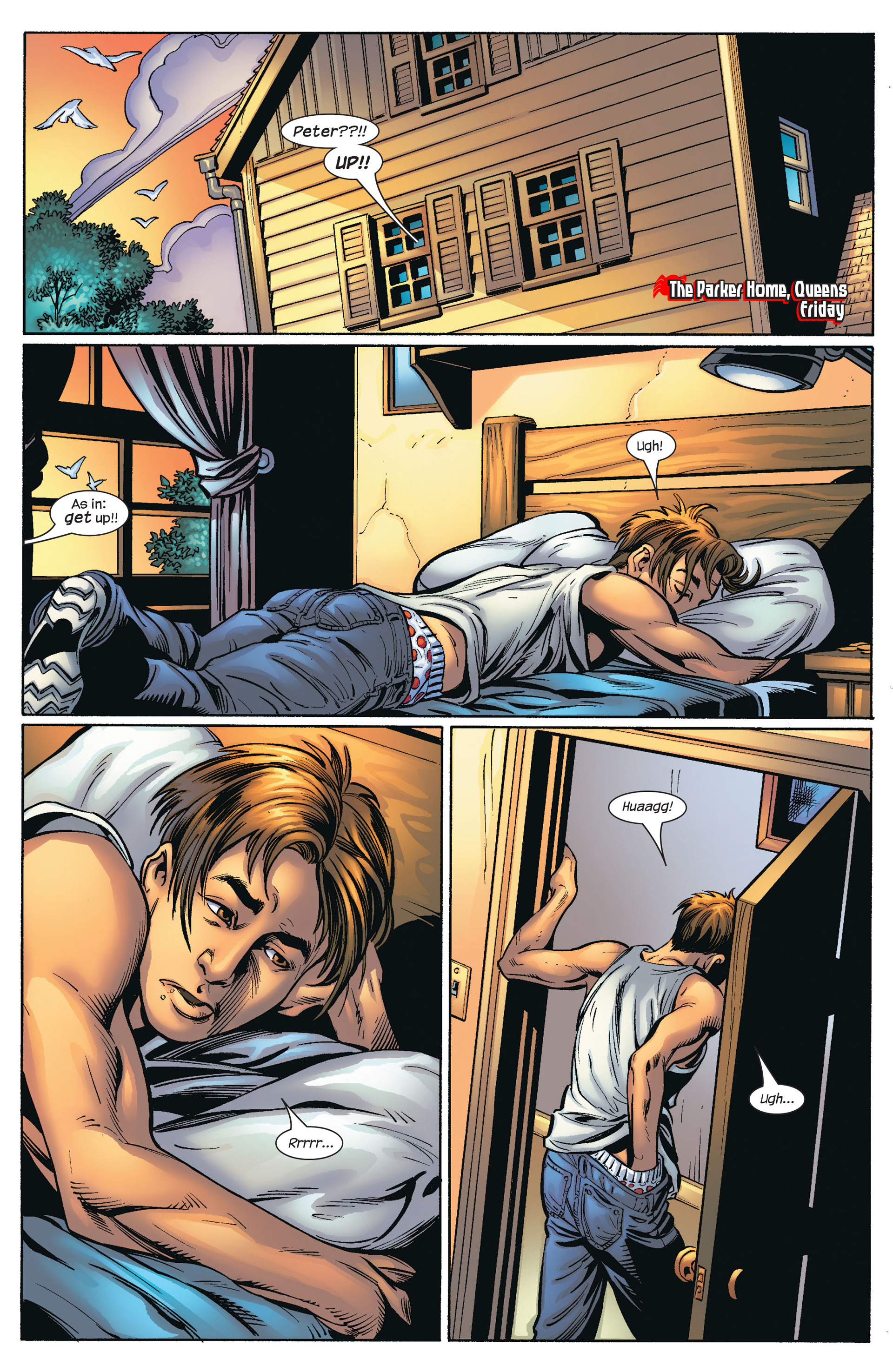 Read online Ultimate Spider-Man (2000) comic -  Issue #66 - 3