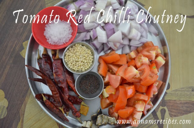 Tomato Red Chilli Chutney