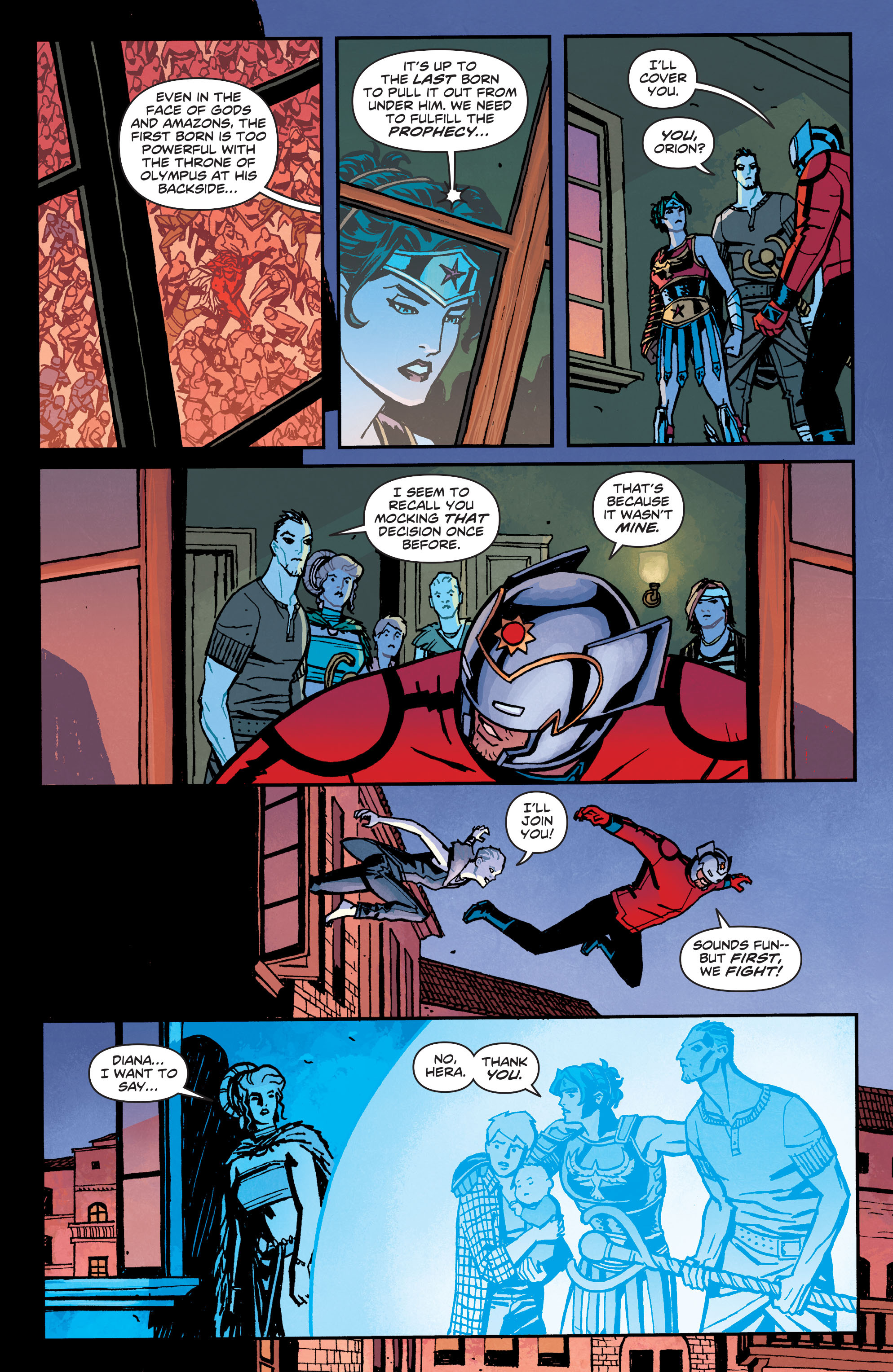 Read online Wonder Woman (2011) comic -  Issue #34 - 19
