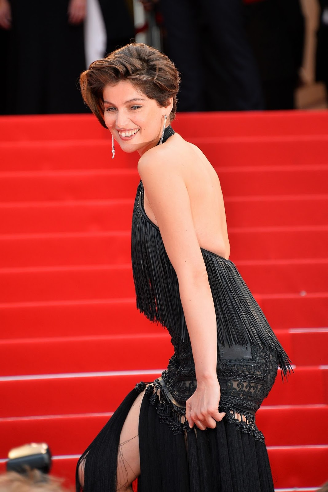 HQ Photo sof Laetitia Casta Closing Ceremony At 2015 Cannes Film Festival
