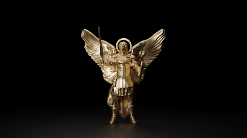 Archangel Michael Pendant