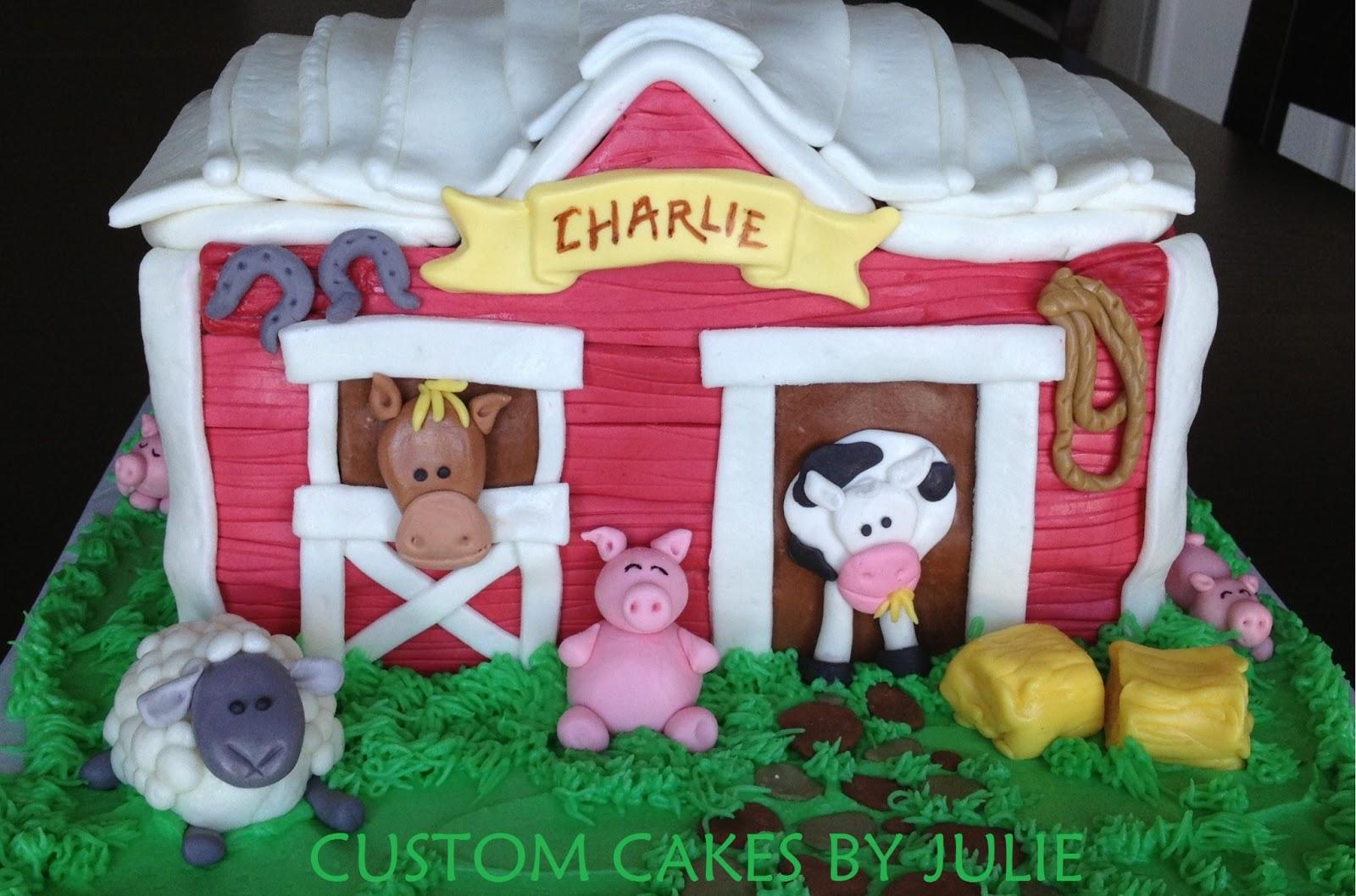 Custom Cakes By Julie Barn Cake