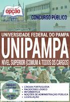 apostila concurso público UNIPAMPA - Universidade Federal do Pampa, Comum a todos os Cargos de Nível Superior.