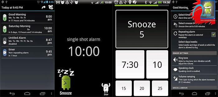 AlarmDroid (alarm clock) Apk Screen Shoot
