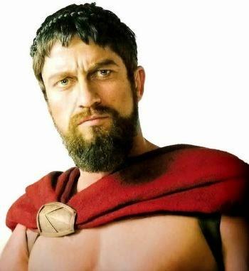 Grow a Spartan Beard like King Leonidas