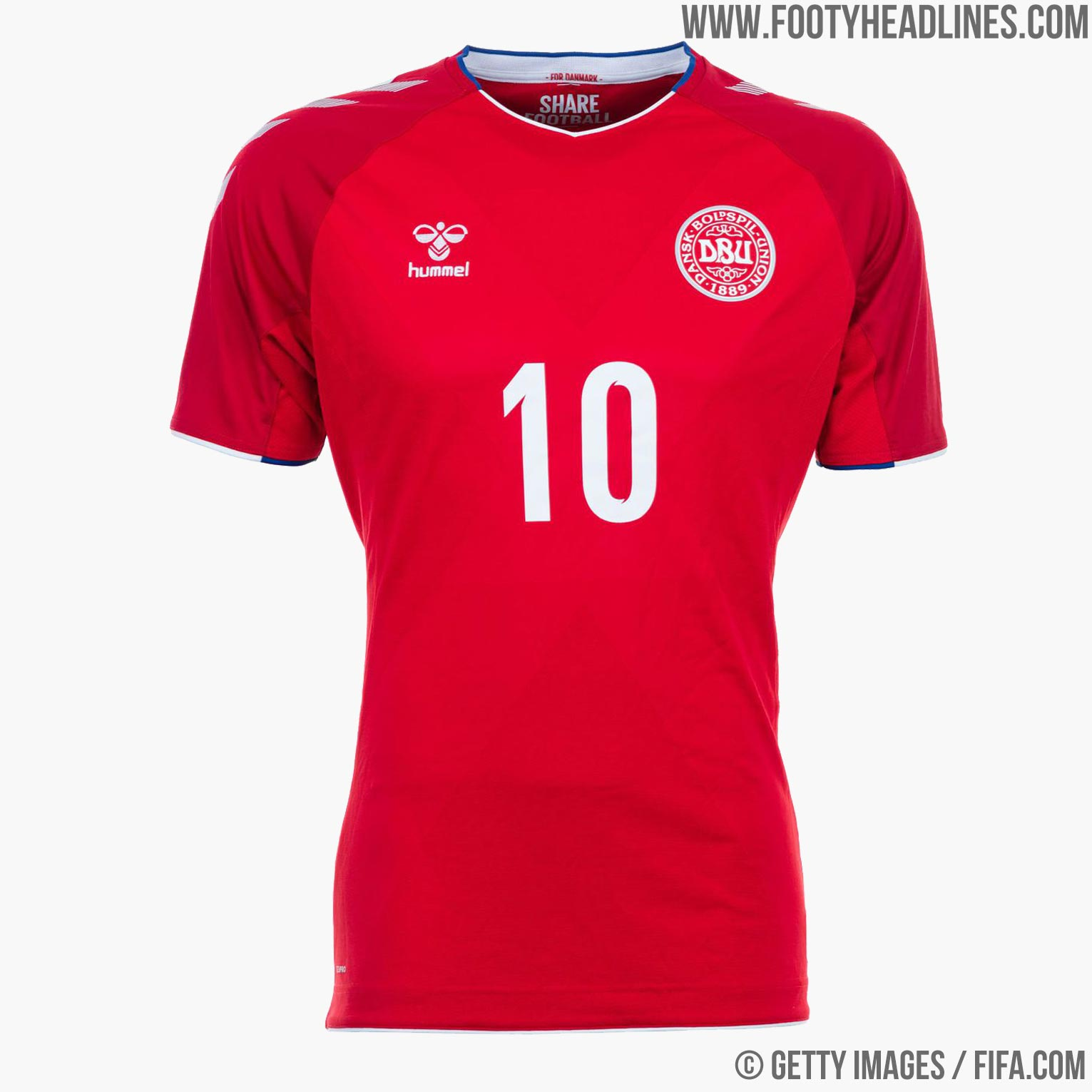 169d51d48 Denmark Home Shirt 2018. Buy now. Free worldwide delivery on all orders