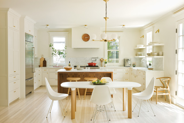 Modern Swedish farmhouse design by Nestor Santa-Cruz found on Hello Lovely