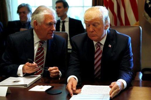 Trump sugiere a Tillerson no perder tiempo con Corea del Norte