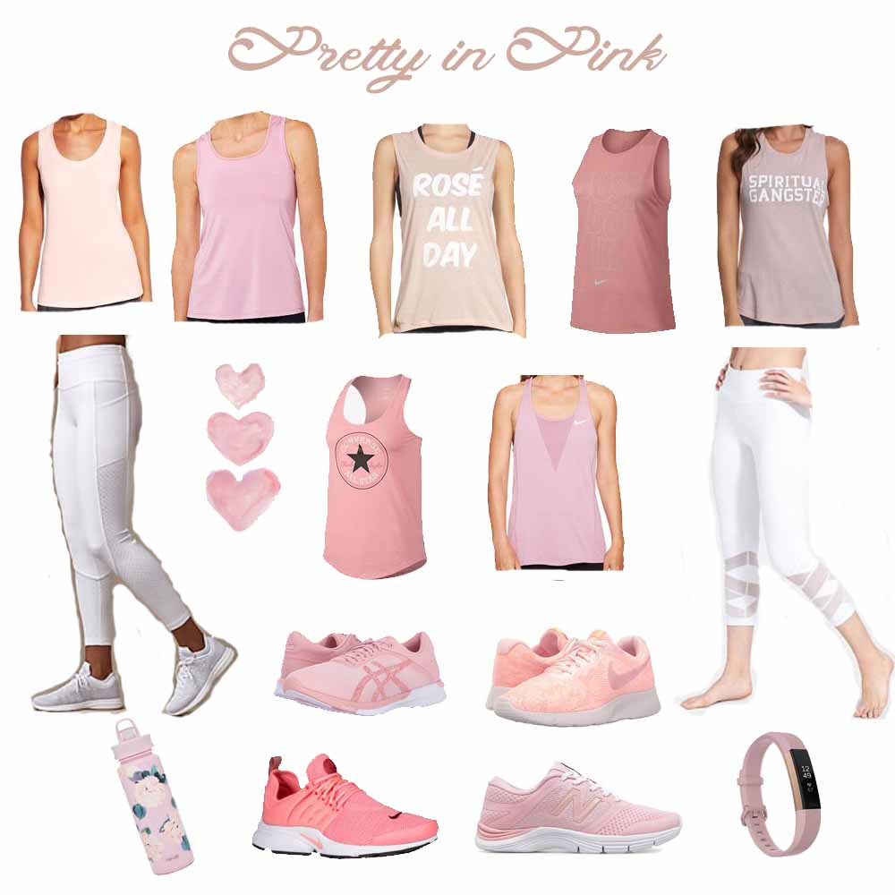 cc7daf3e0e Millennial Pink Workout Clothes - The Blondissima