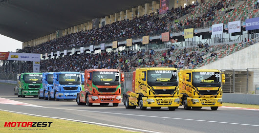 Pitambar wins Super Class race while Europeans beat British racers and 1000 bhp Tata Prima truck creates History!