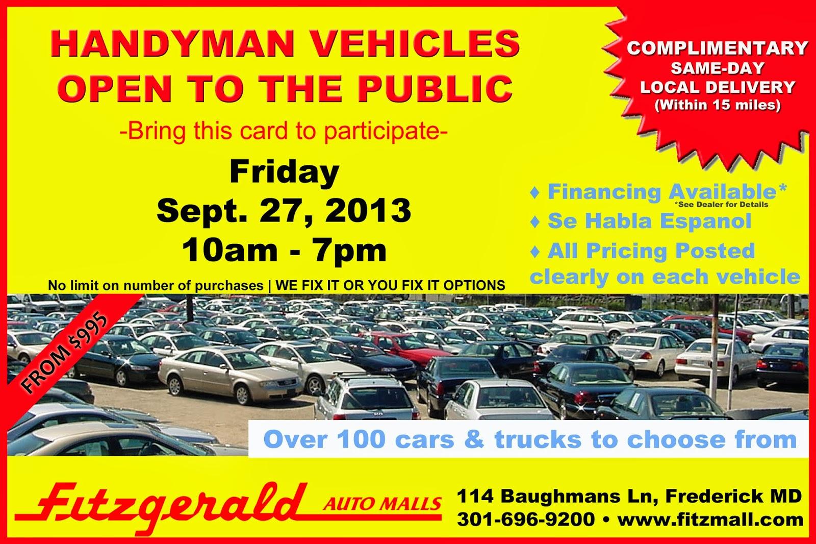 Fitzgerald Auto Mall Frederick >> Fitzmall Frederick Md Fitzgerald Mazda Vw Cadillac