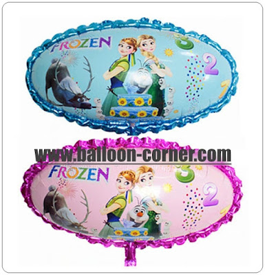 Balon Foil Oval FROZEN