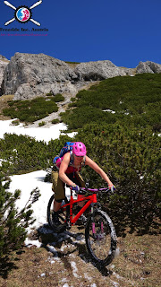 mountainbike trail stanser joch