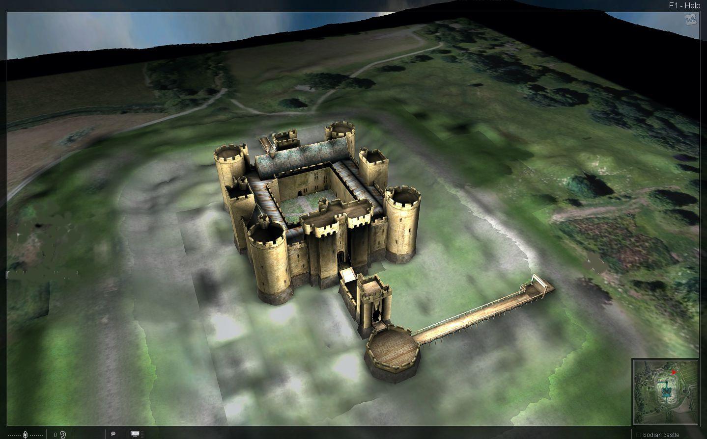 Manheim Floor Plan Pin Pictures Of Bodiam Castle Attraction Photos