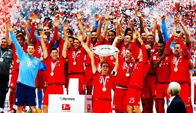 Bayern de Munique é Campeão da Bundesliga 2015/16
