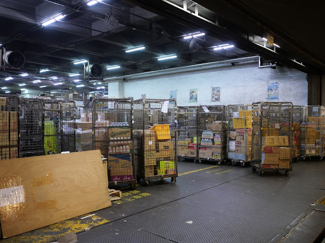 Circle K distribution centre in the Sunshine Kowloon Bay Cargo Centre