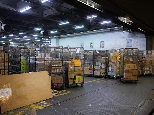 Circle K distribution centre in the Sunshine Kowloon Bay Cargo Centre