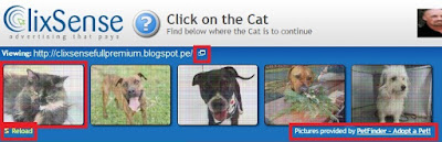clixsense Clicking on a PTC Advert
