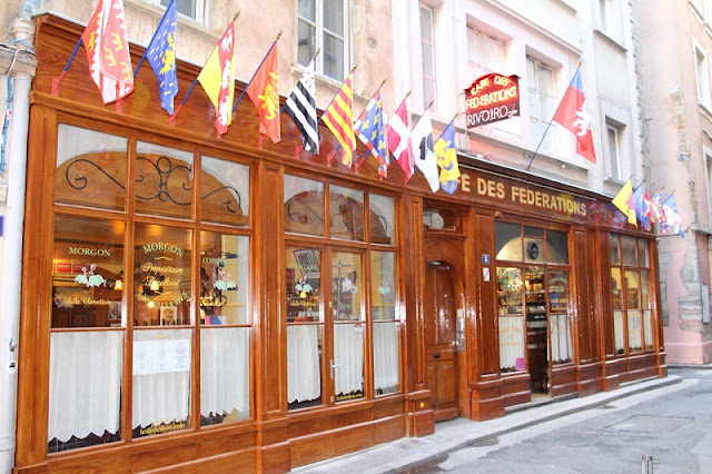 Bouchon Cafe des federations em Lyon
