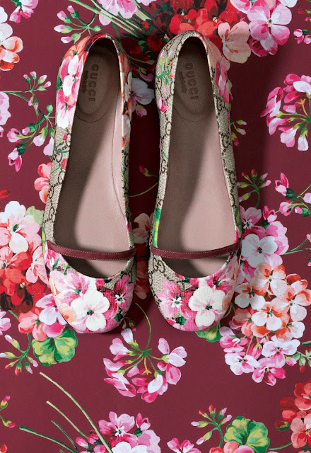 Gucci Blooms Shoes for FW 15