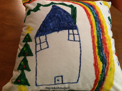 children are drawing pillows1