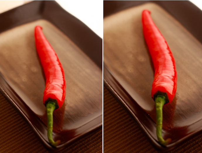 how spicy is a fresh red chile