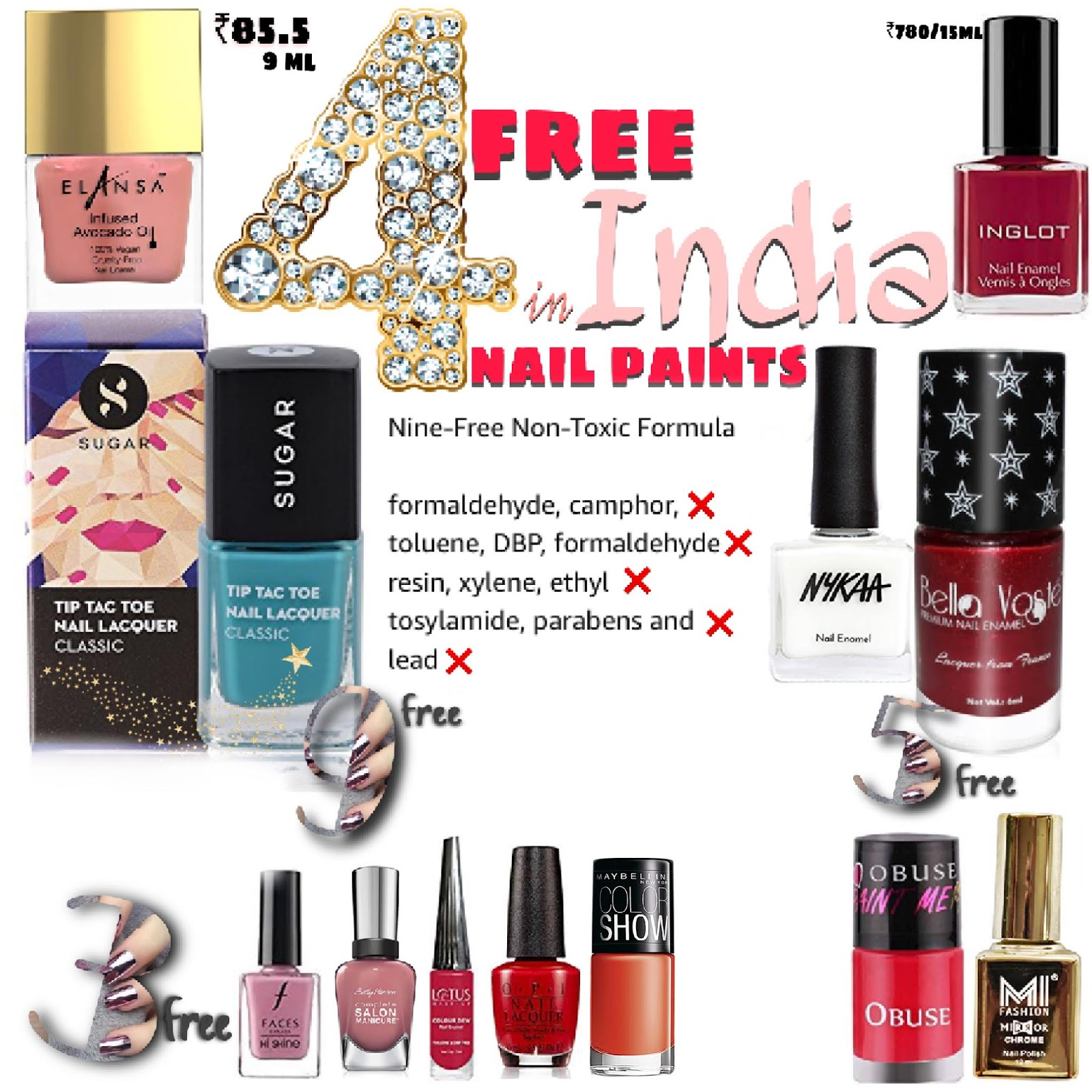 14 Non Toxic Nail Polish Available In India 9 Chemical Free