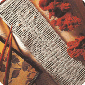 """Adorno """"Punto de libro musical"""" a Crochet"""