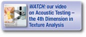 Acoustic testing video