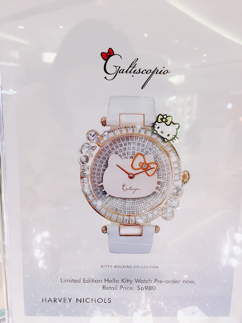 GALTISCOPIO, 迦堤, Sanrio, HelloKitty, 腕錶, Swarovski, 水晶, fashion, lovecath, catherine, style, mixandmatch, fashionblogger, 夏沫, watch