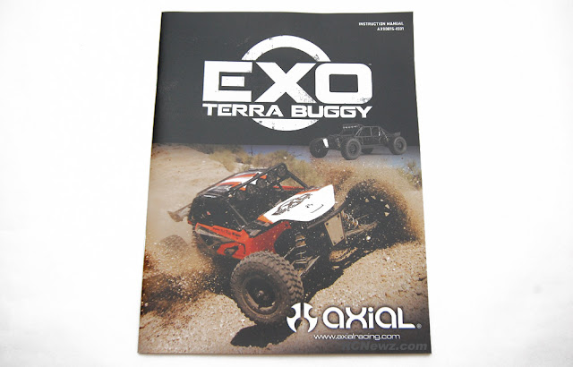 Axial Exo Terra owners manual