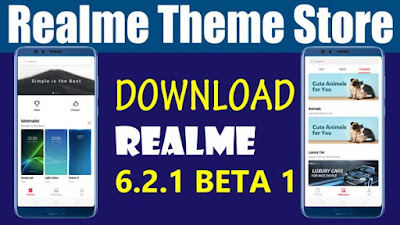 Official Realme Theme store Download Apk Beta Version 6.1.2 beta 1