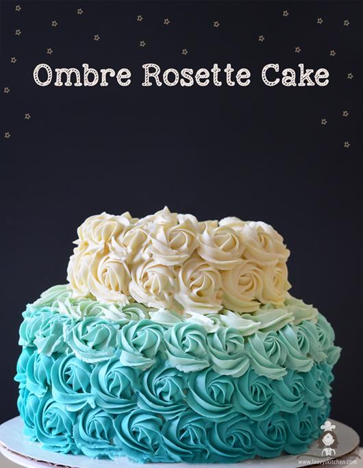 Tier Rosette Cake