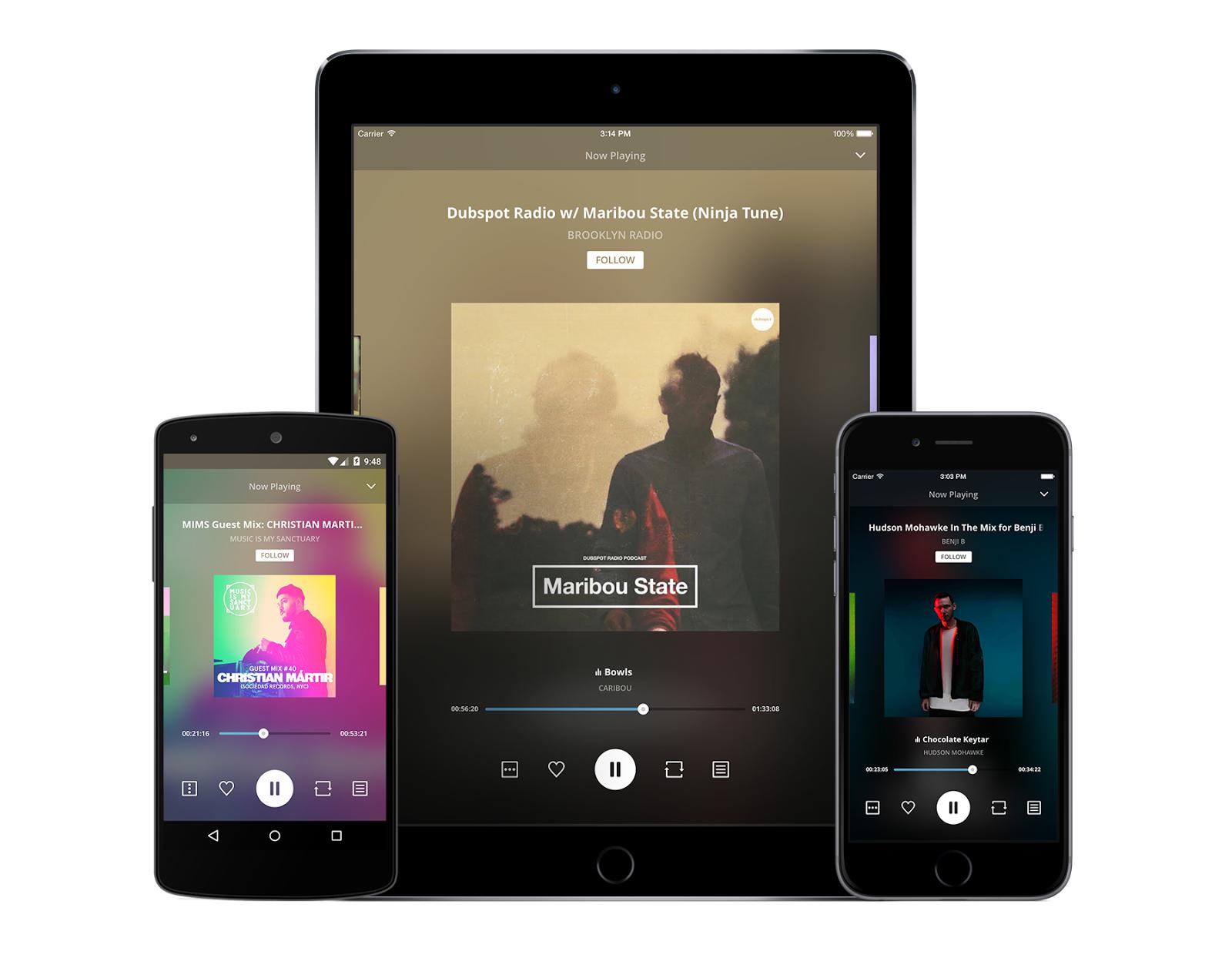 Dalam aplikasi ini nantinya kamu bisa mendengar jutaan lagi remix keren yang lagi hits yang di upload