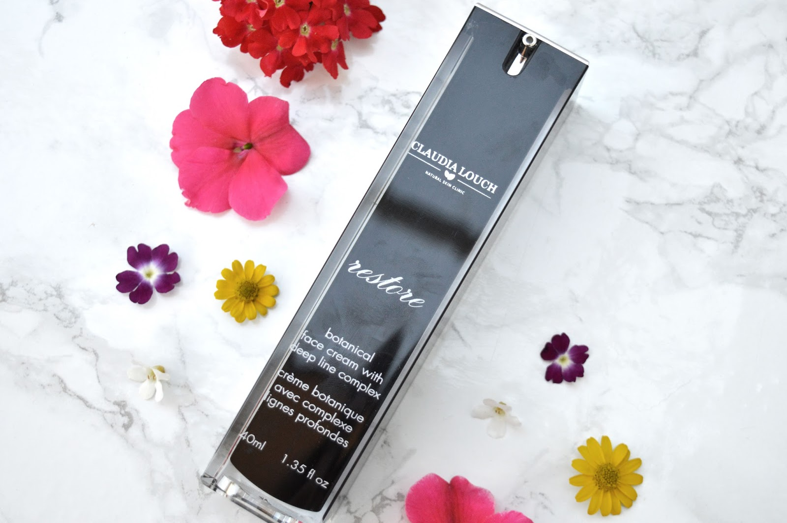 Claudia Louch Botanical Face Cream with Deep Line Complex