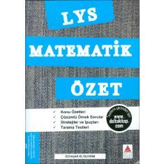 LYS Matematik Özet / Özyaşar Elyıldırım / Delta Kültür Yayınevi