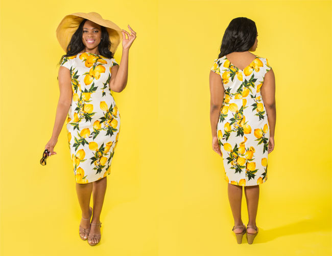 Sew a Knockout Dress online workshop - Etta dress