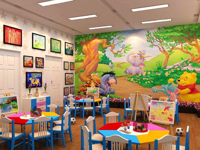 Trường mầm non dự án Mon Central Láng Hạ