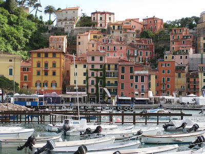 Colorful Lerici and Harbor.