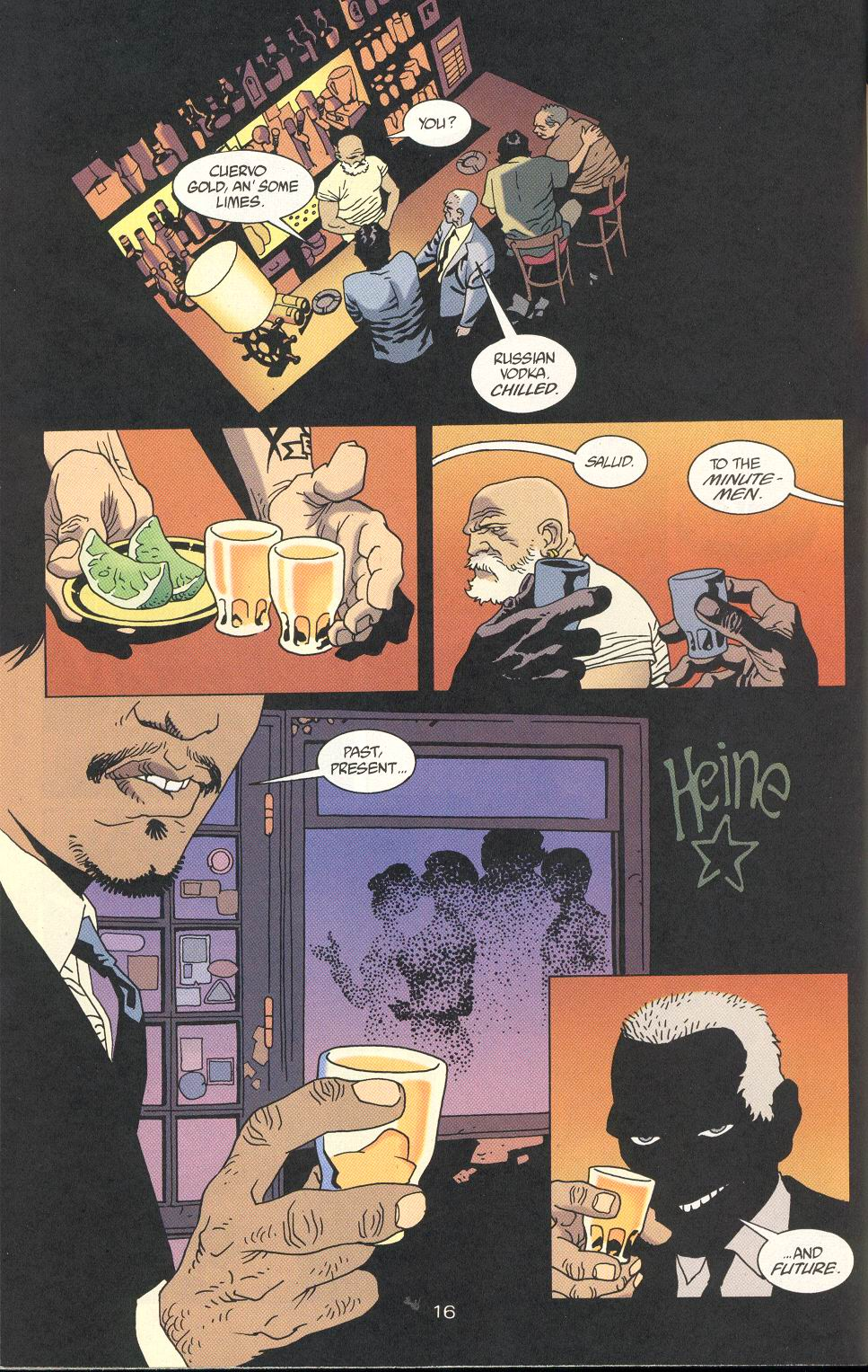 Read online 100 Bullets comic -  Issue #24 - 18