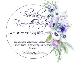 Thursday Favorite Things Link Party