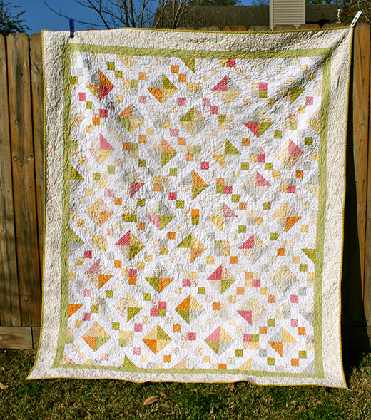 Sunkissed Jewel Box Quilt designed by Mary Lane Brown for Modabakeshop