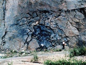 Los restos del reactor lo hacen ver de una tecnología muy superior a la nuestra