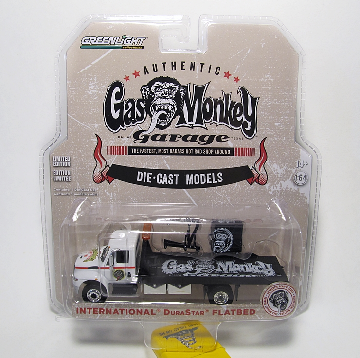 Greenlight Gas Monkey Garage International Durastar Flatbed