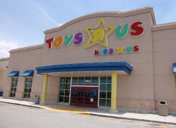 """2d886a4878c Loja de brinquedos Toys """"R"""" Us em Miami e Orlando"""