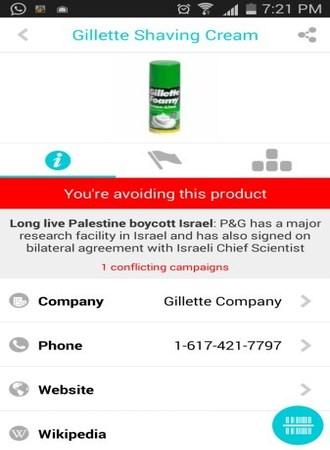 Aplikasi mobile Buycott [6]